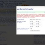 Beispielrechner Backlinkseller