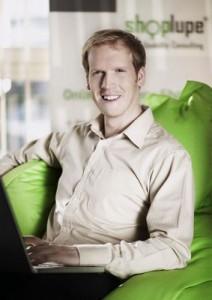 Johannes Altmann, Gründer und Geschäftsführer der Shoplupe