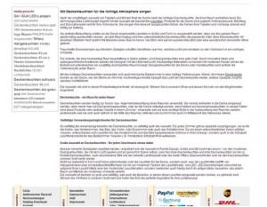 """Lampenwelt.de veröffentlicht seinen SEO-Text zum Keyword """"Deckenleuchten"""" am unteren Ende der Seite. Das Keyword taucht, genauso wie es empfohlen wird, in der Überschrift, in Zwischenüberschriften und im Fließtext auf."""