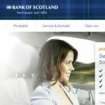 Bank of Scotland ab sofort im Smava-Kreditvergleich