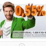 Smava: Online-Kredit jetzt schon ab 0,55 %
