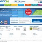 Check24 bietet Kredite ab 0,55 Prozent Effektivzins