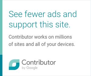 Werbebanner für Google Contributor