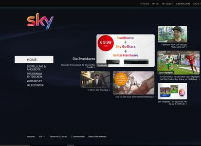 Sky Abonnenten