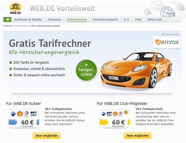 Kfz Versicherung Wechseln Und 60 Tankgutschein Bekommen Netz24 Biz