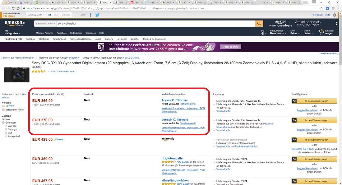 Amazon-Betrüger