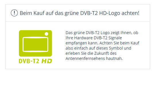 DVB-T2 HD Logo freenet tv