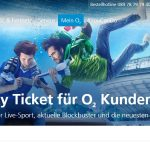 O2 Sky Ticket Kunden