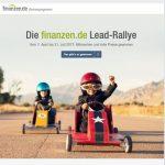 Attraktive Gewinne: Finanzen.de startet Lead-Rallye