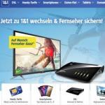 1&1 schenkt Kunden bei DSL-Abschluss neuen LED-TV von Sharp