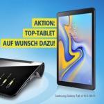 1&1 schenkt Neukunden Tablet von Samsung für DSL-Vertragsabschluss