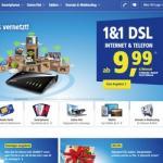 1&1 spendiert Neukunden bis zu 150 Euro Sparguthaben und 240 Euro Preisvorteil